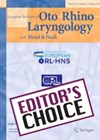 EUROPEAN ARCHIVES OF OTORHINOLARYNGOLOGY cover