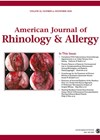 AMERICAN JOURNAL OF ALLERGY & RHINOLOGY cover