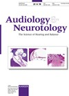 AUDIOLOGY AND NEUROTOLOGY cover