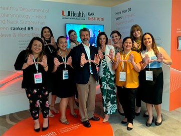 University of Miami Ear Institute Team