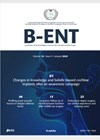 B_ENT journal cover image