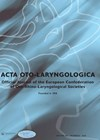 Acta Oto-laryngologica journal cover image