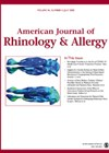 American Journal of Rhinology & Allergy cover image.