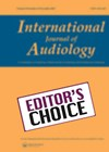 International Journal of Audiology cover image.