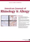 American Journal of Rhinology & Allergy cover.