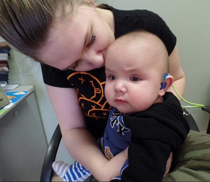Infant hearing loss impacts spoken language development: identify and intervene early