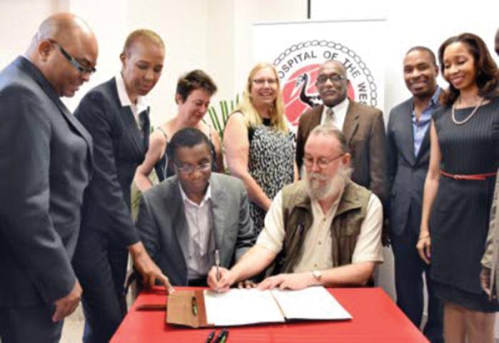 Launch of the Diabetic Retinopathy Screening Service in UHWI